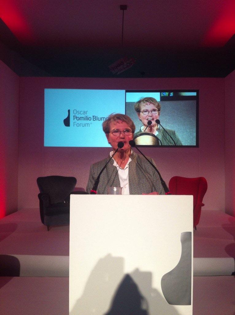 Pescara: Il ministro Persson all'Oscar Pomilio Blumm Forum