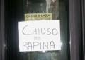 Pescara, rapina in banca ai Colli