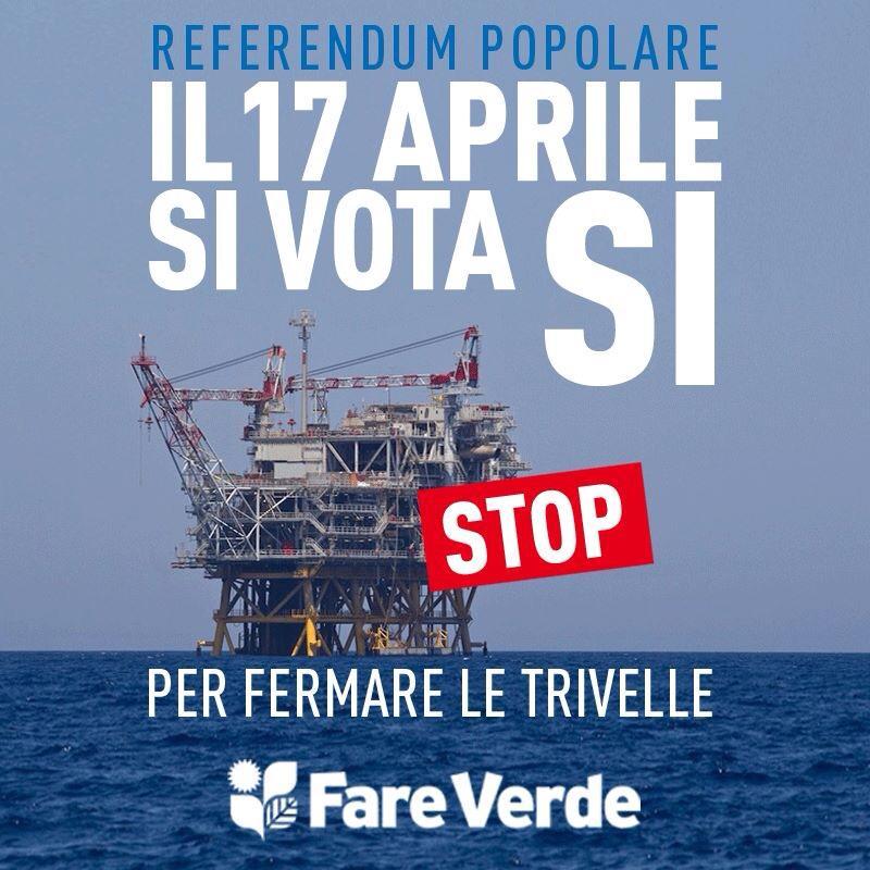 Referendum trivelle, sabato un flash mob a Pescara