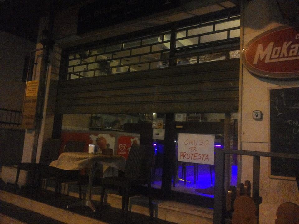Chieti: ieri serrata negozi anti ipermercati