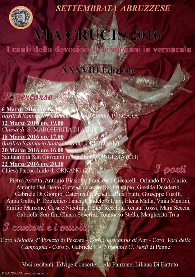 Via Crucis: 5 appuntamenti con Settembrata Abruzzese