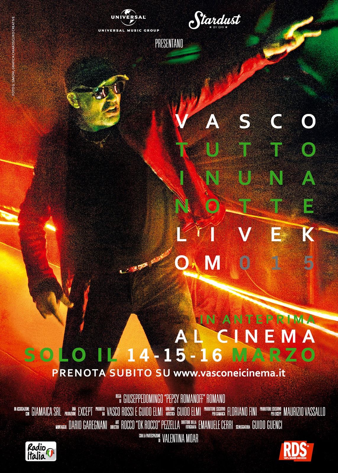 Vasco Tutto in una notte al Ciak City di Lanciano