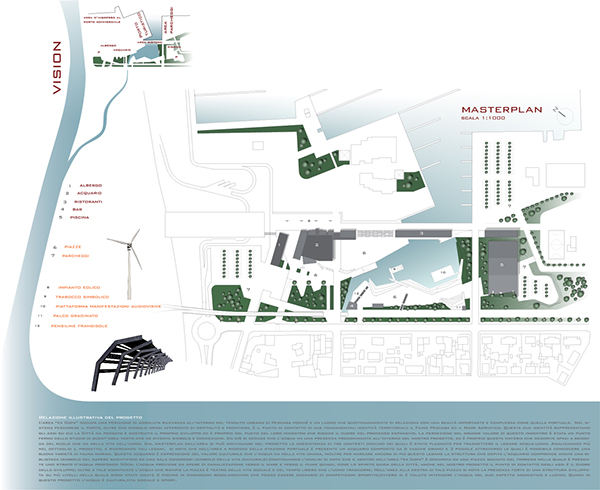 Waterfront Center: Il Comune di Pescara immobile