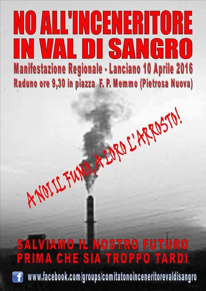 """Forum H2O: """"Inceneritore in Abruzzo, allarme rosso"""""""