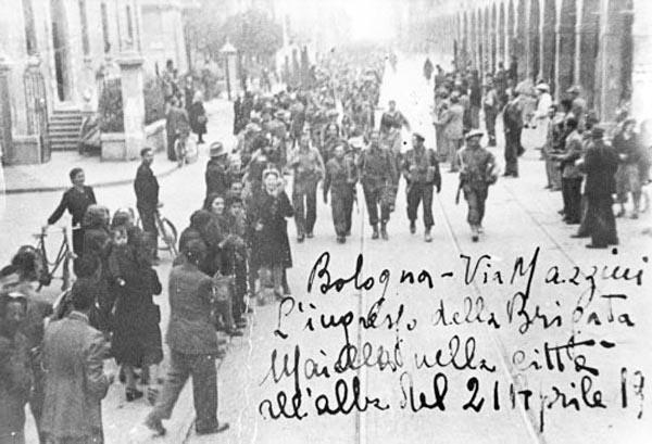 25 aprile: quando la Brigata Maiella entrò a Bologna liberandola
