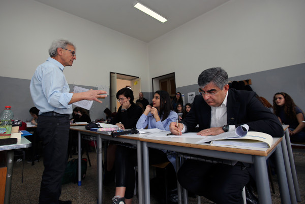 Pescara: D'Alfonso al Liceo Classico