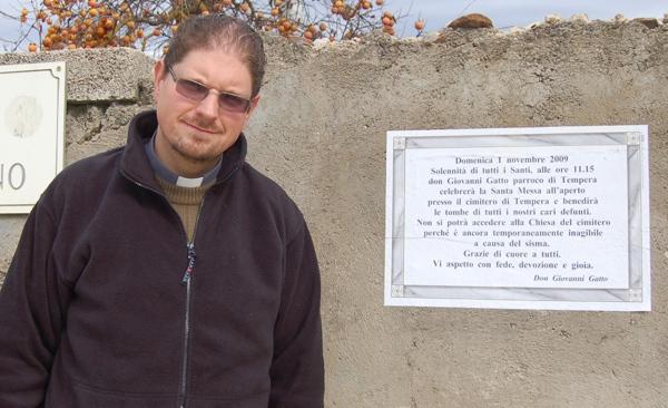 La camorra nella ricostruzione: Tanta solidarietà per Don Gatto