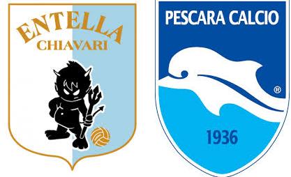 Entella Pescara: le probabili formazioni