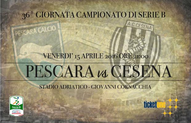 Pescara Cesena: le probabili formazioni