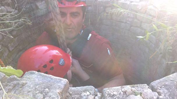 Ripa Teatina, bimbo caduto nel pozzo salvato dai Vigili del Fuoco