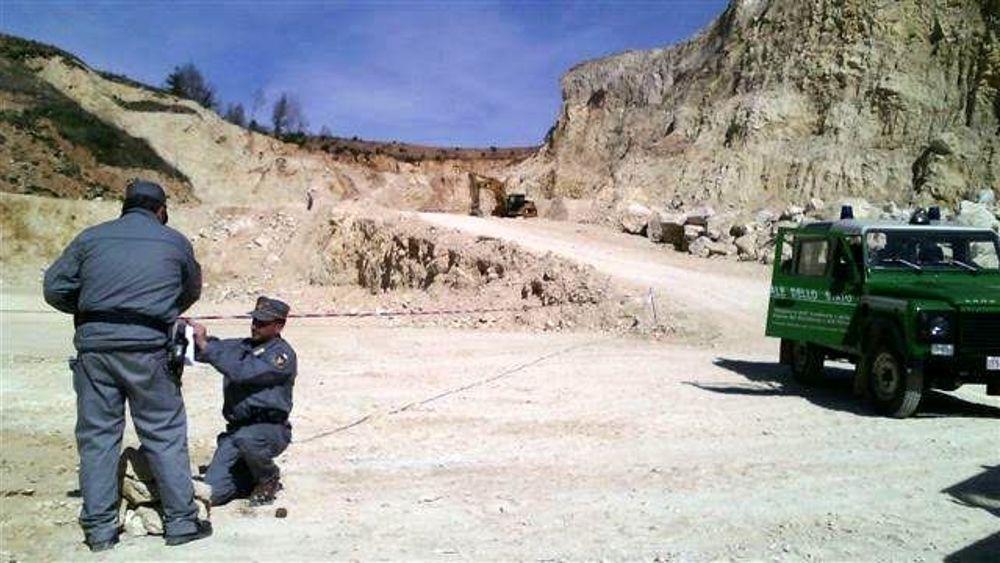 Allarme cave in Abruzzo: Distrutto patrimonio archeologico