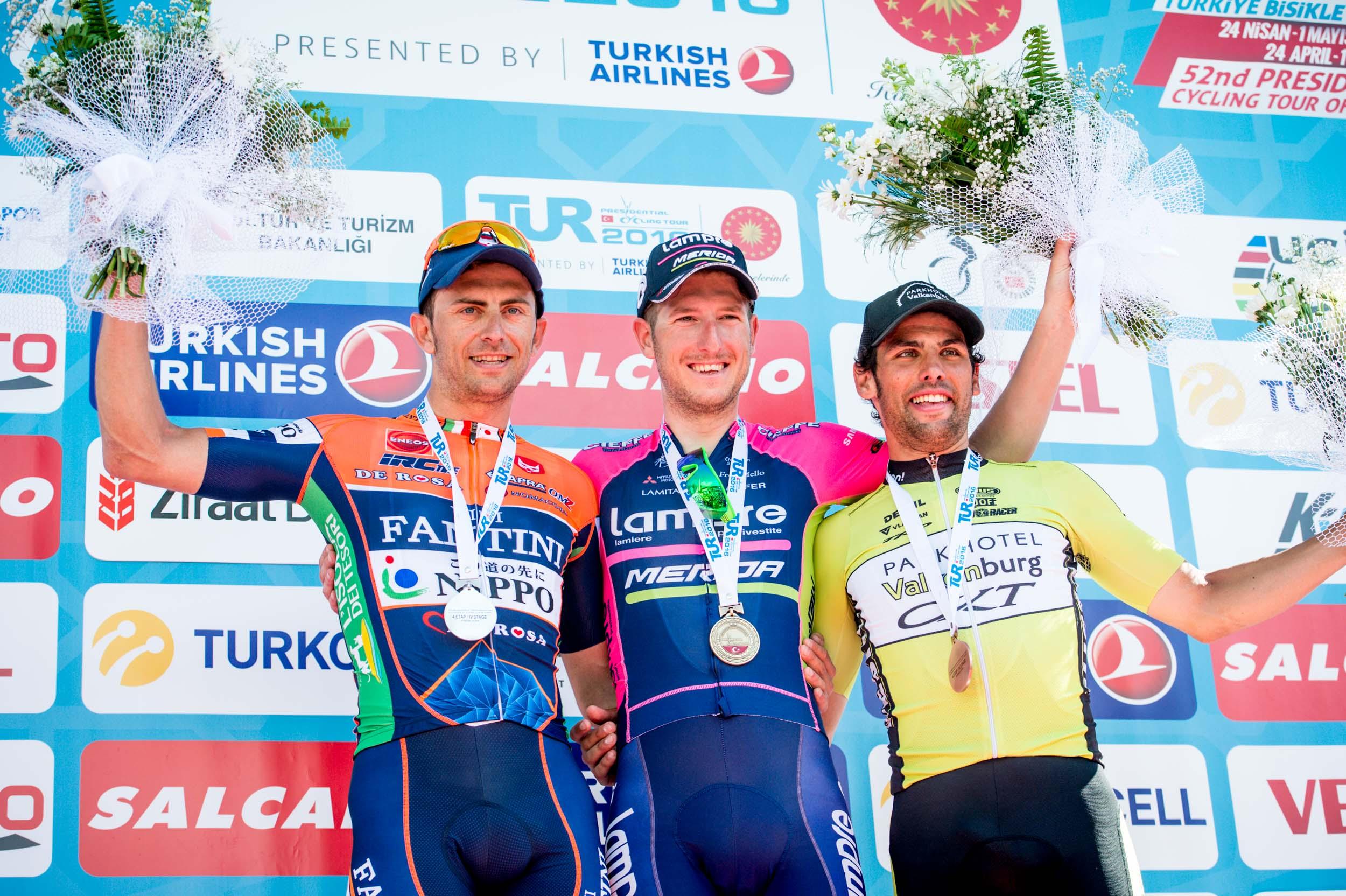 Ciclismo, Giro Turchia podio per Daniele Colli