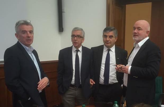 Ryanair: D'Alfonso, il Governo mantiene la promessa