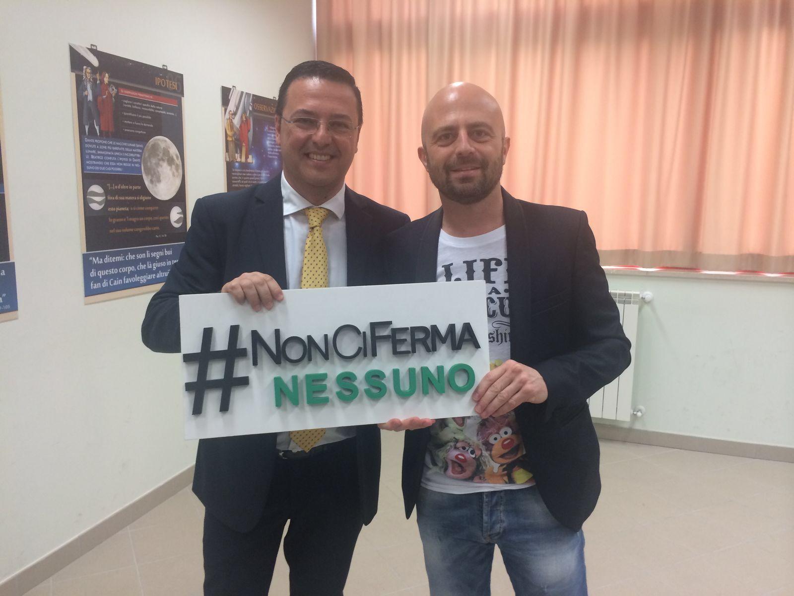 Pescara: #NonCiFermaNessuno di Luca Abete