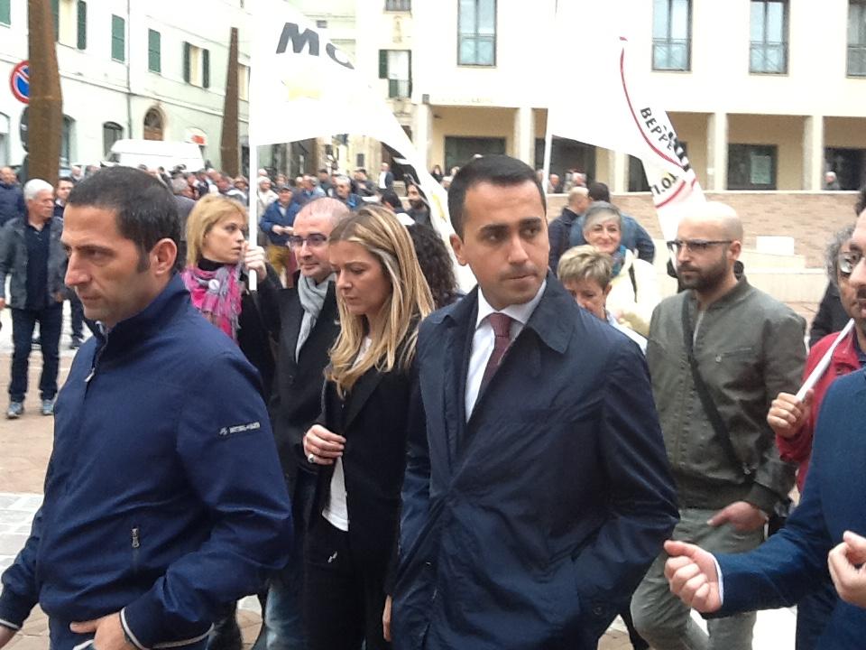 Il vice presidente della Camera Di Maio oggi in Abruzzo