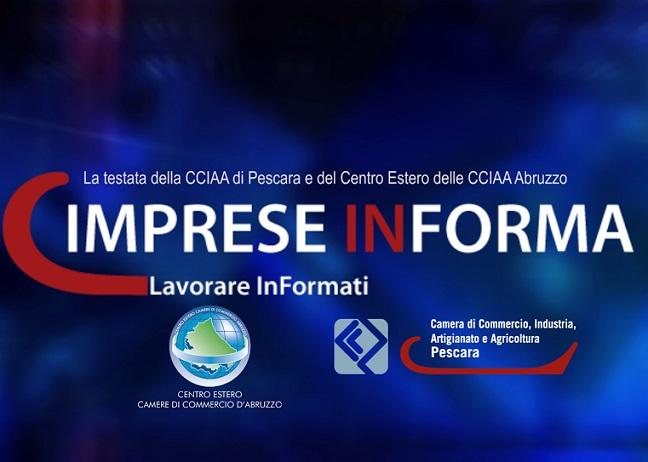 Imprese InForma del 3 Maggio 2016