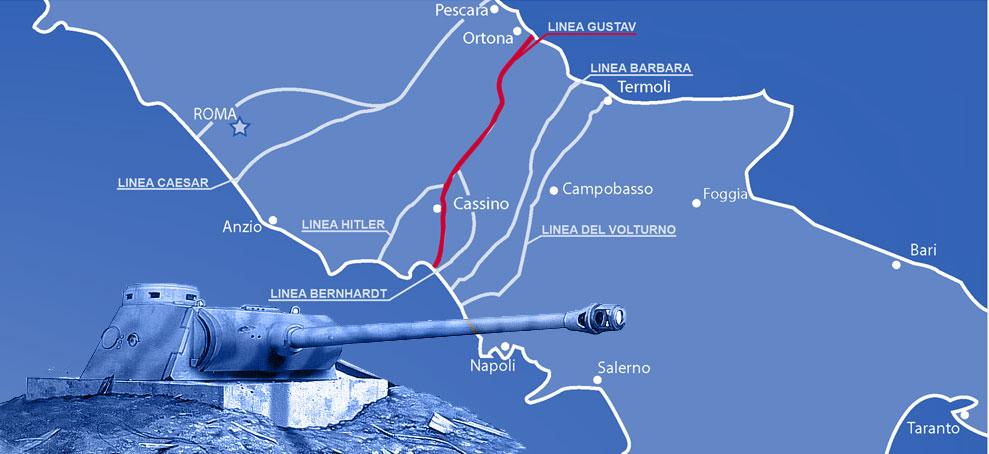25 aprile: la linea Gustav per il turismo della memoria
