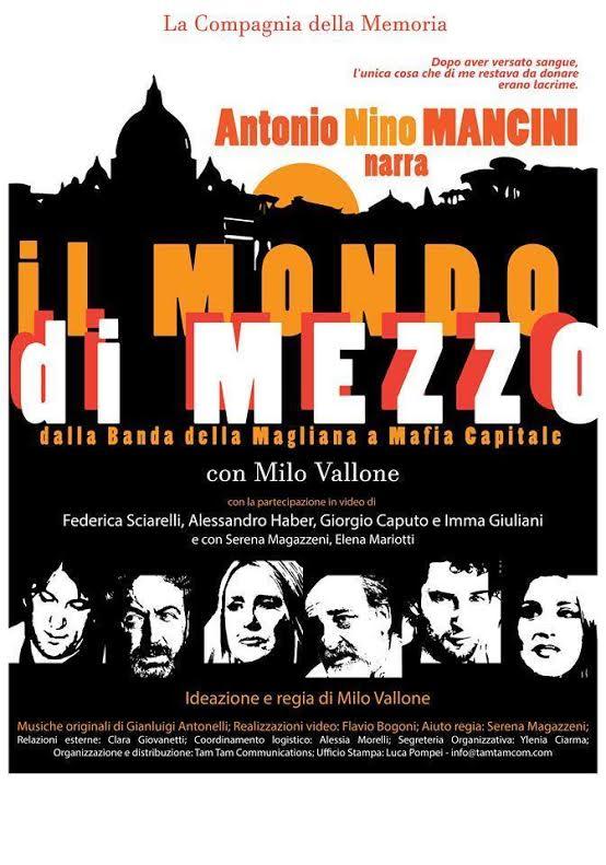 Pescara: Nino Mancini narra il Mondo di Mezzo