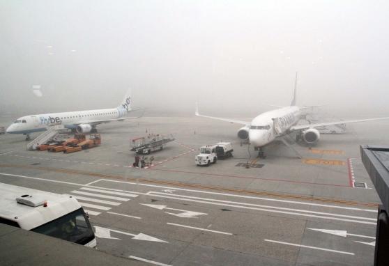 Nebbia a Pescara: disagi all'Aeroporto