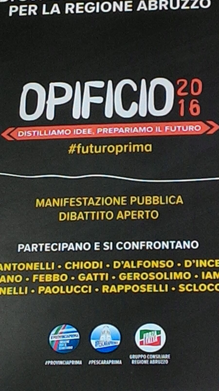 Opificio 2016 all'Aurum di Pescara
