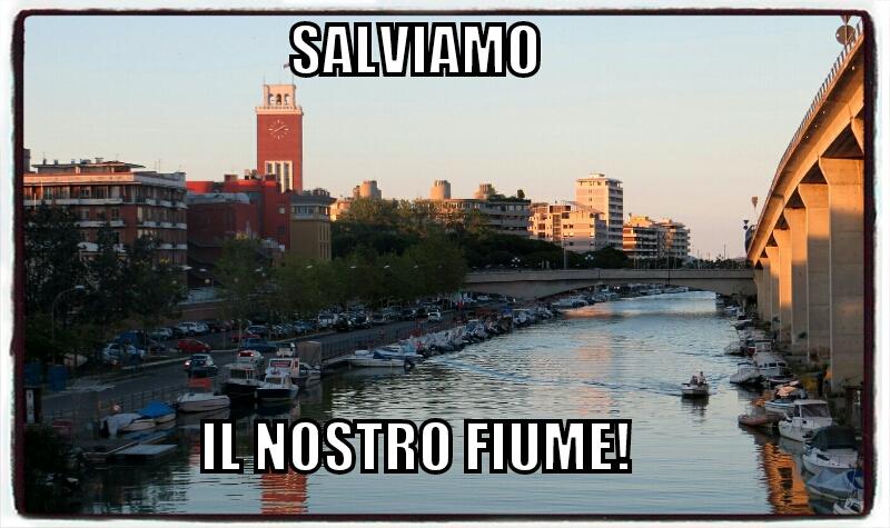 """E su FB: """"Salviamo il fiume Pescara"""""""