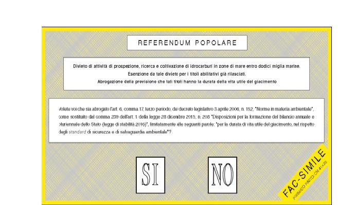 Referendum Trivelle: in Abruzzo più di un milione di elettori