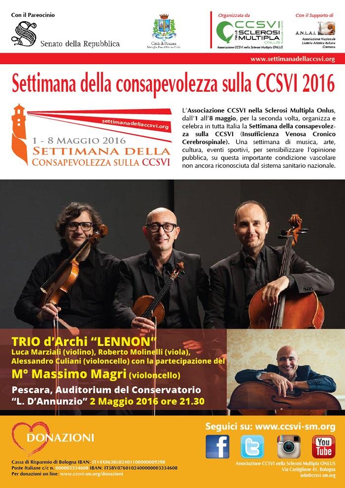 Pescara: musica e solidarietà al Conservatorio