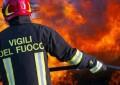 Civitella Roveto: Tir in fiamme, danneggiata galleria