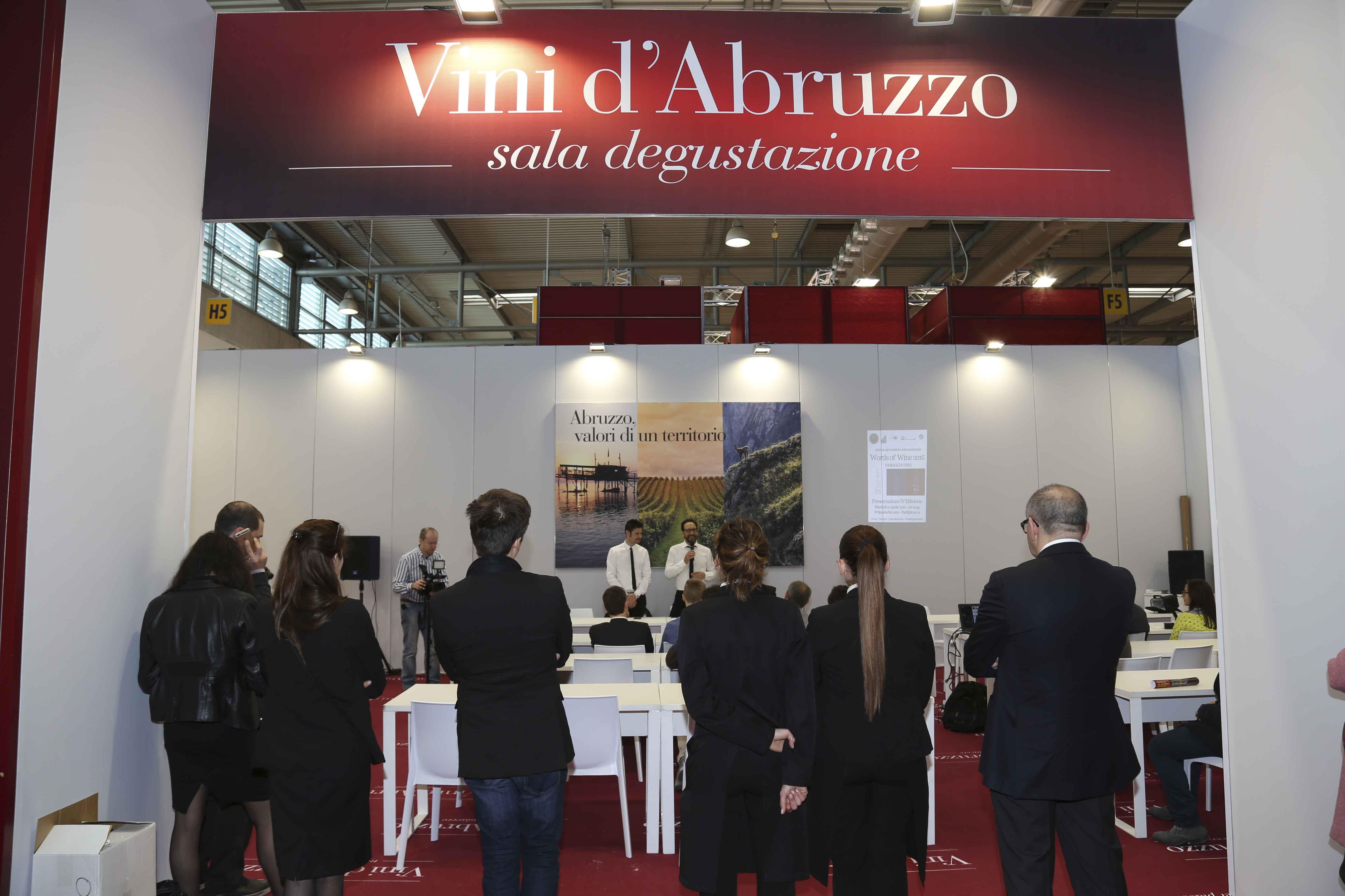L'Abruzzo al Vinitaly: produzione in crescita