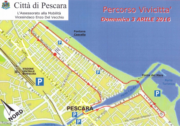 Vivicittà a Pescara: 1300 podisti hanno invaso la città