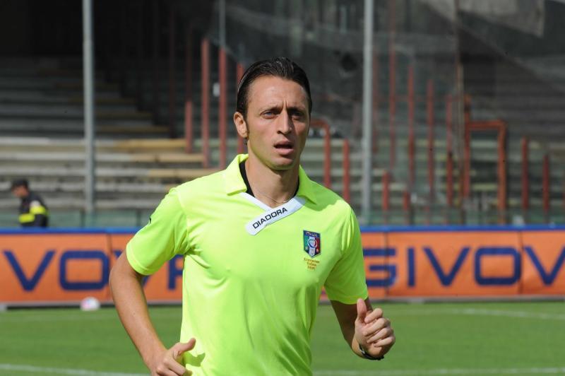 Pescara Novara: ecco l'arbitro