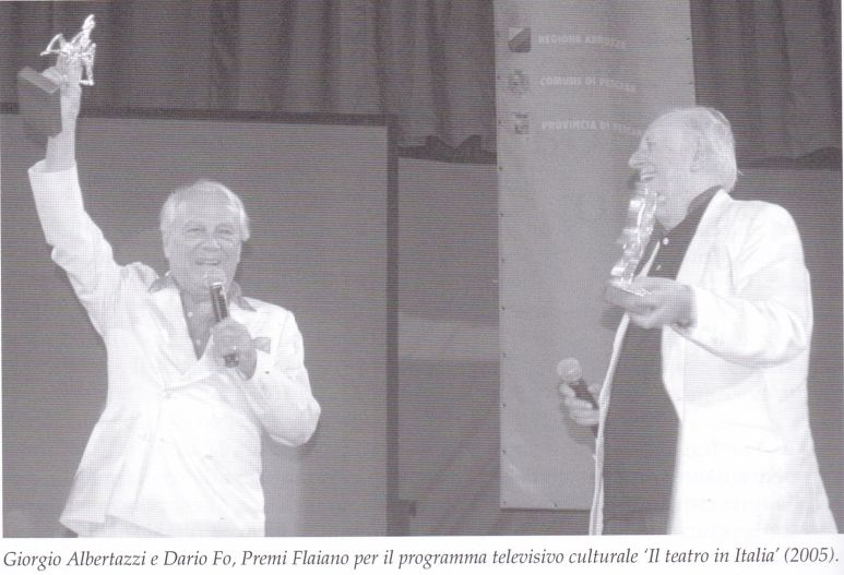 La Fondazione Tiboni e i Premi Flaiano ricordano Albertazzi