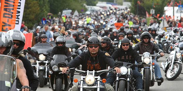 Tutto pronto per il raduno delle Harley Davidson a Pescara