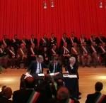Renzi e D'Alfonso firmano il Masterplan Abruzzo