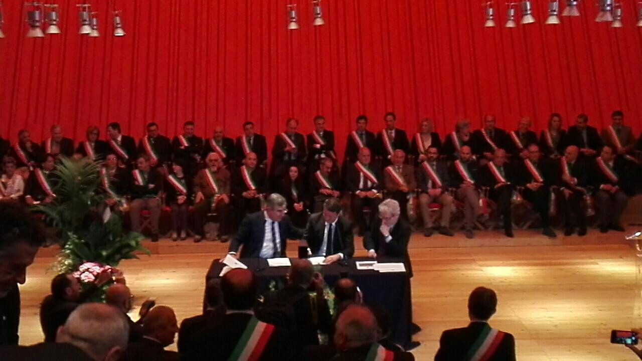 Renzi a L'Aquila, oggi la firma del Masterplan