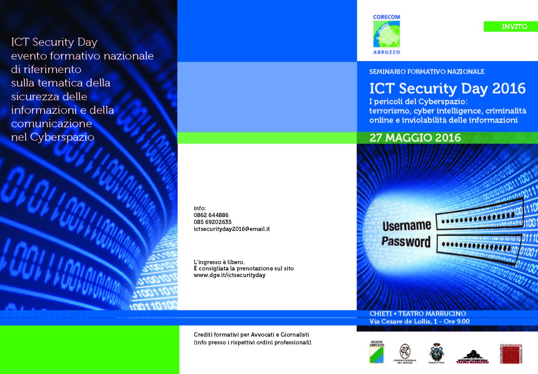 I pericoli del Cyberspazio a convegno a Chieti