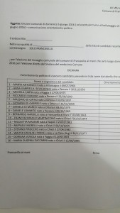 LISTA SOLO FRANCAVILLA