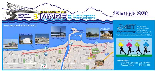 Pescara: In 2000 alla Maratonina del Mare