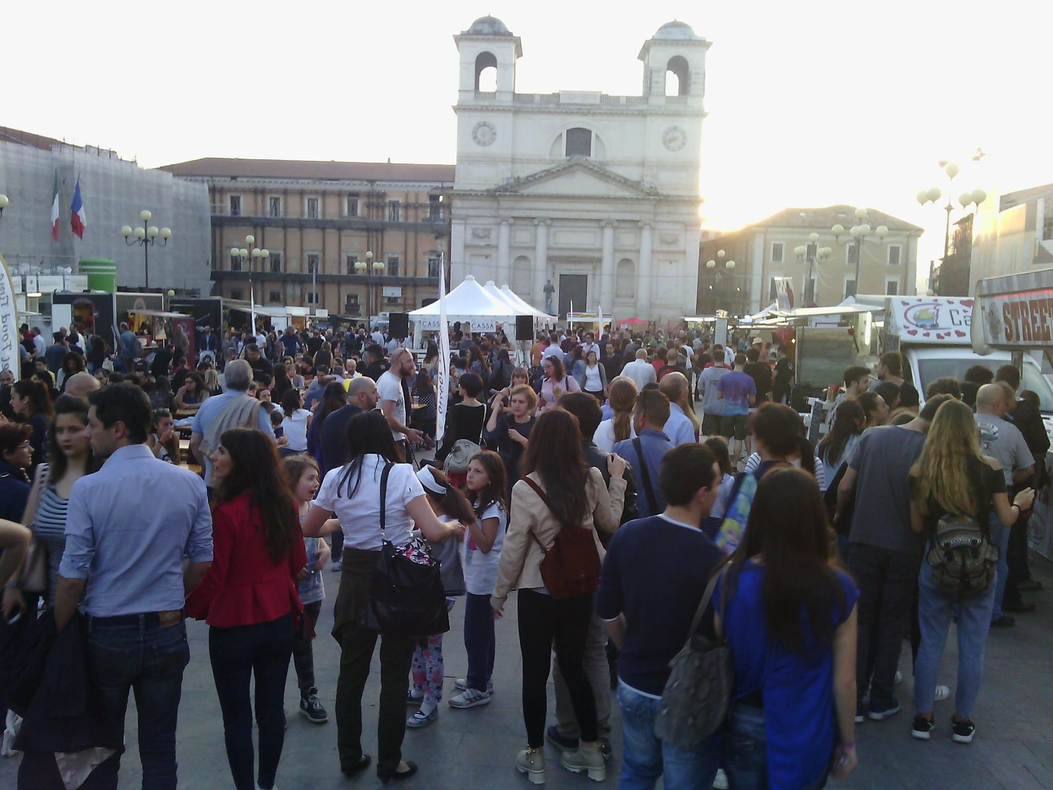 L'Aquila, Street Food Time fa il pienone