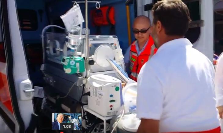 Attiva nella Asl di Chieti l'ambulanza neonatale
