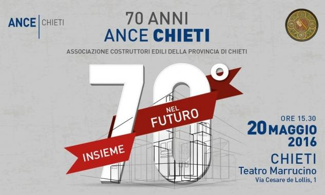 Chieti: l'Ance festeggia 70 anni