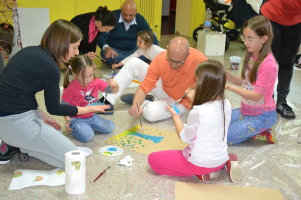 Rosciano: Art Terapy per le famiglie