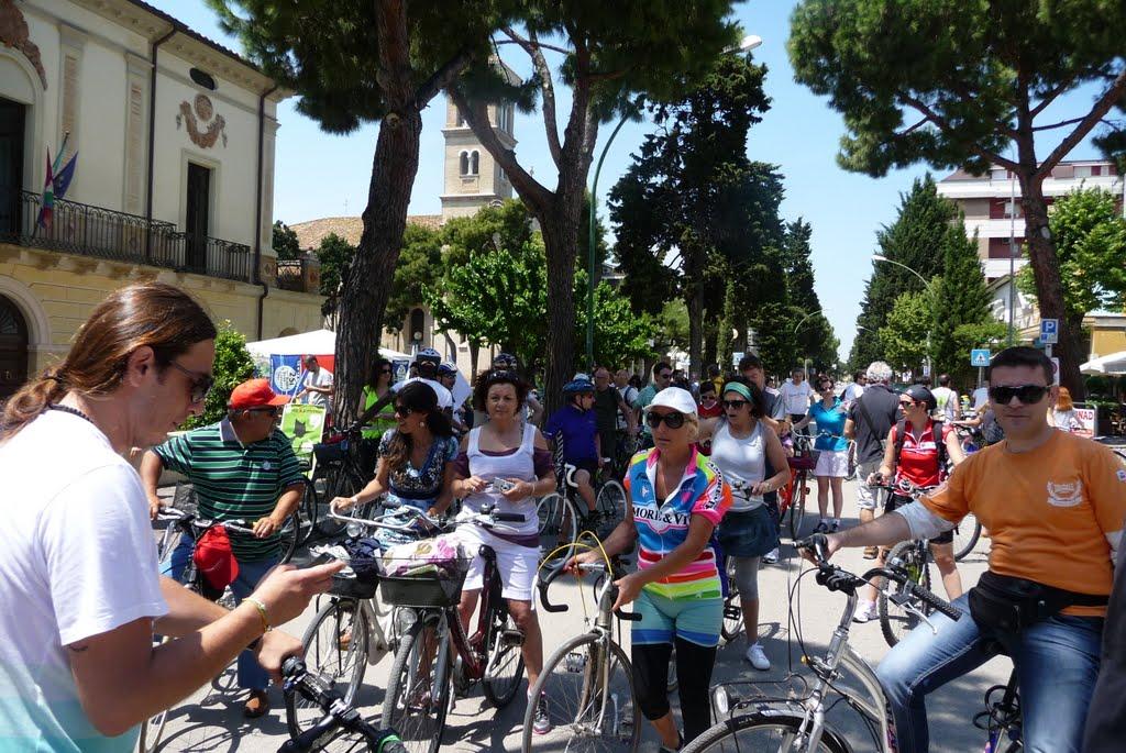 Biciclettata Adriatica la Via Verde Costa dei Trabocchi