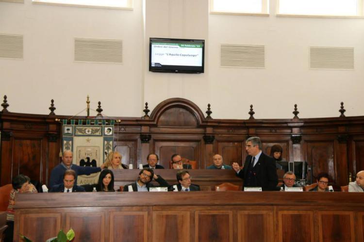 Comune L'Aquila: il bilancio sarà approvato in anticipo