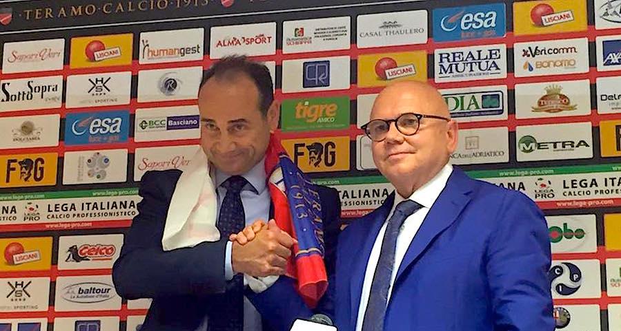 Lega Pro Teramo, Fabio Lupo si presenta
