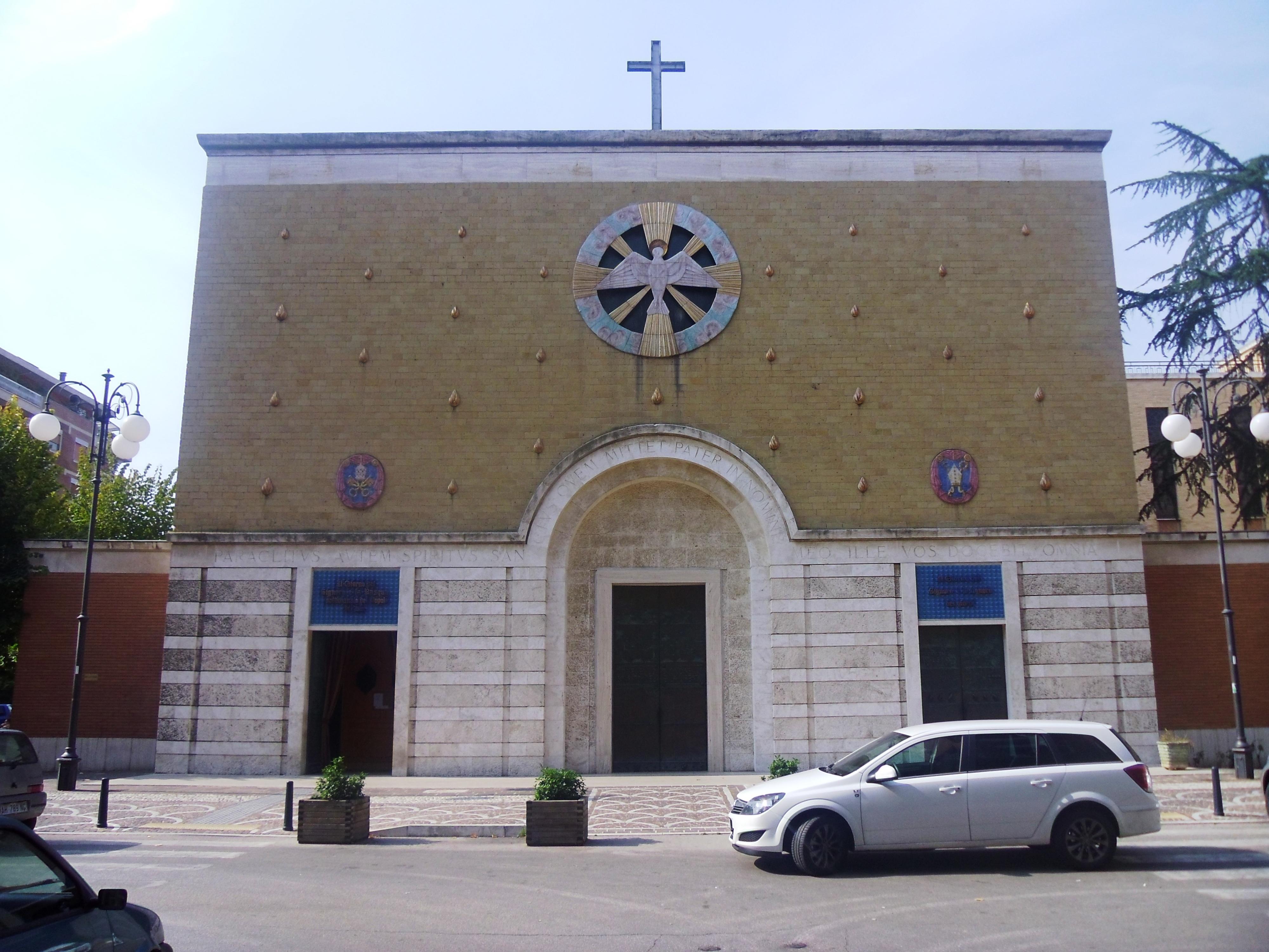 I senza tetto occupano la chiesa dello Spirito Santo a Pescara
