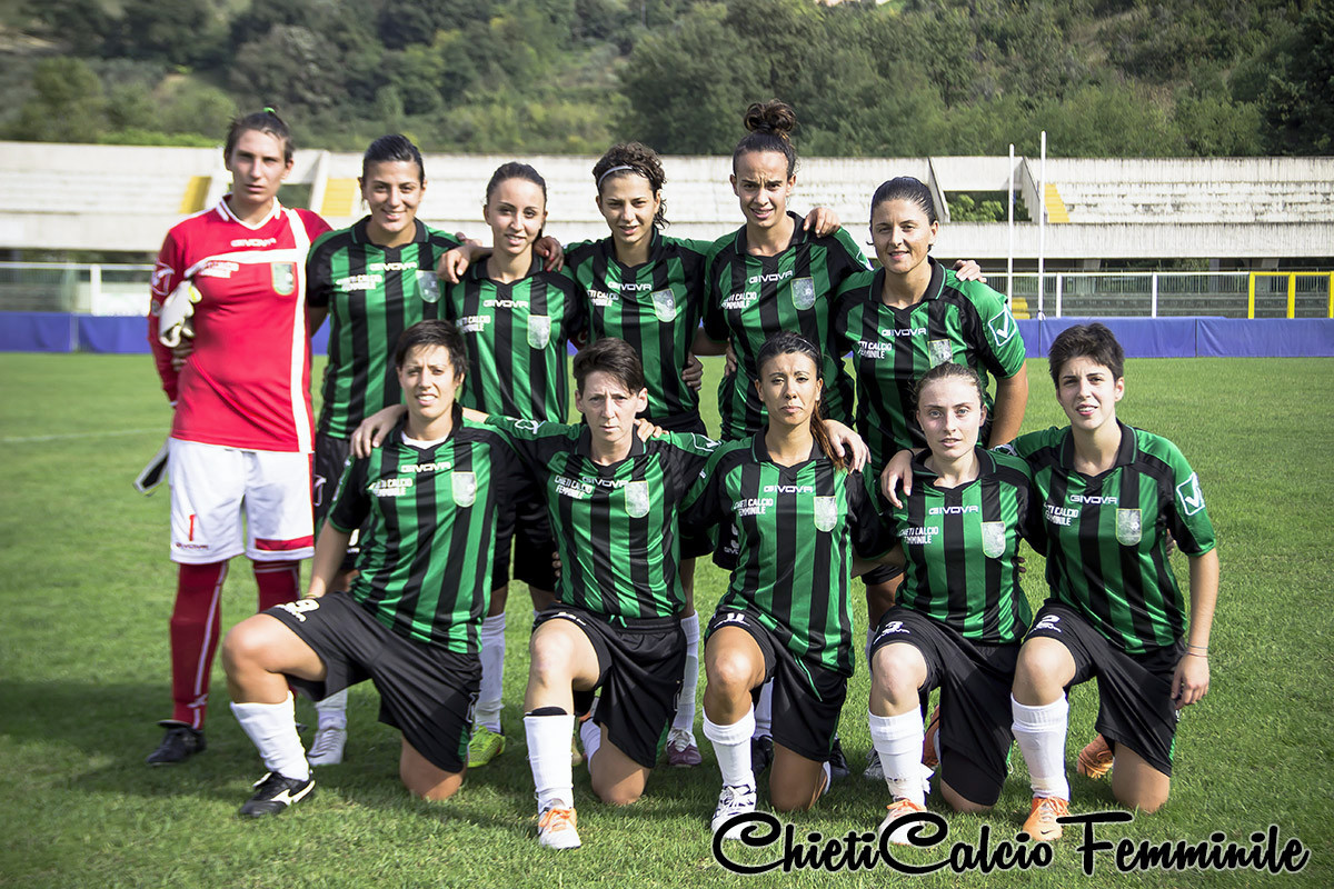 Calcio Donne – Chieti: storica serie A