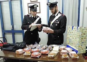 Montesilvano, tre arresti per furti di cibo