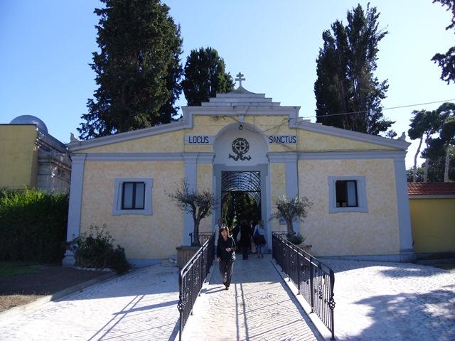 Lavori al Cimitero di Montesilvano