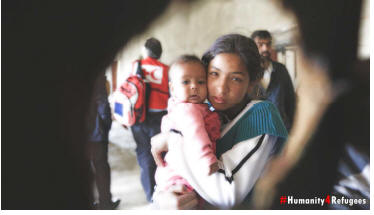 Da Pescara, e Cepagatti, parte #Humanity4Refugees